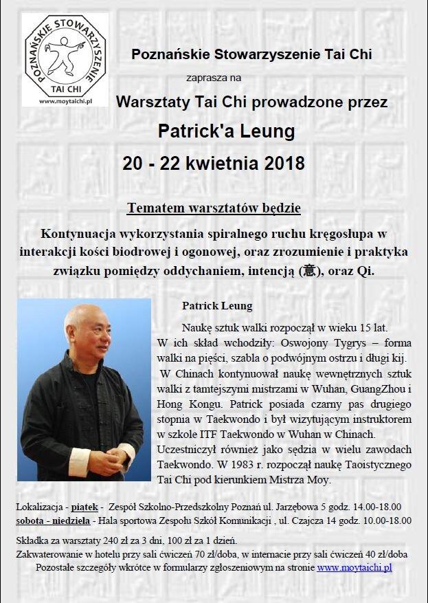 Warsztaty Tai Chi